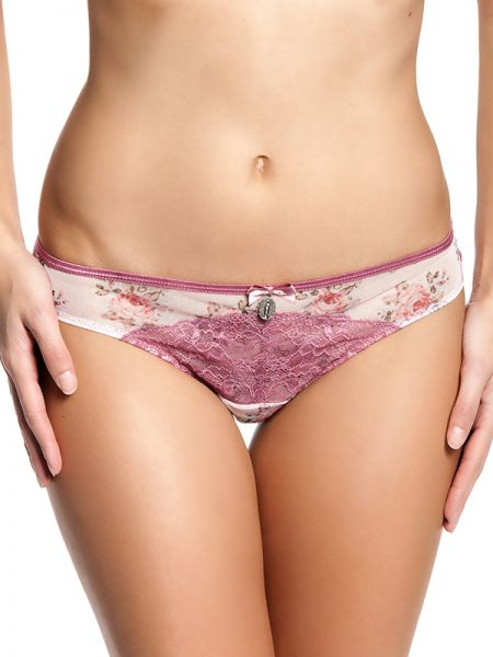 Boudoir De Rose Panty lightpink allover