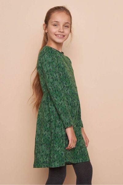 Kinder Jersey-Kleid ELISA (GOTS) - dots