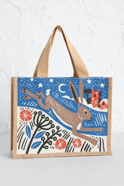 Cute Jute Winter Hare