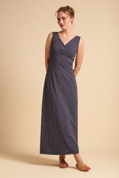 Ginger Maxi Dress Mariniere - Blue