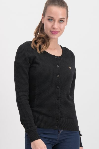save the brave cardy - black waffle