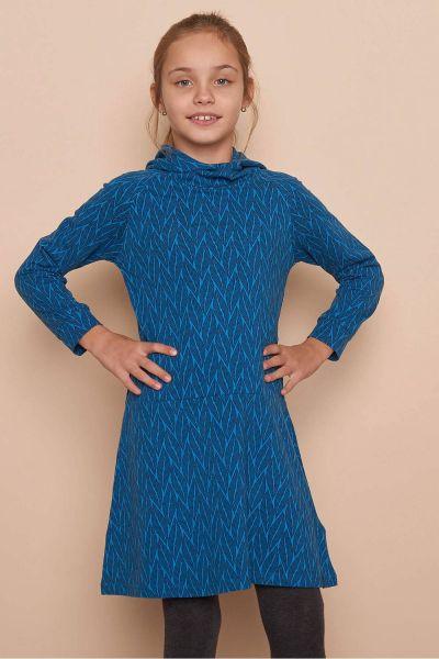 Kinder Jersey-Kleid EMI (GOTS) - plant