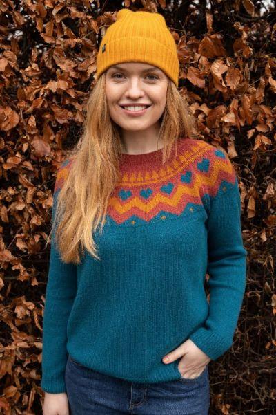 Anne Sweater - Stone Blue
