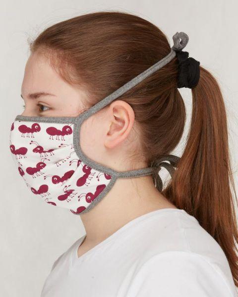 Mund- und Nasenmaske - Ameise