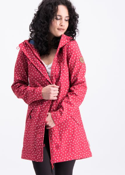 wild weather long anorak - dot and love