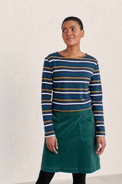 Sailor Shirt Tri Breton Rich Blue