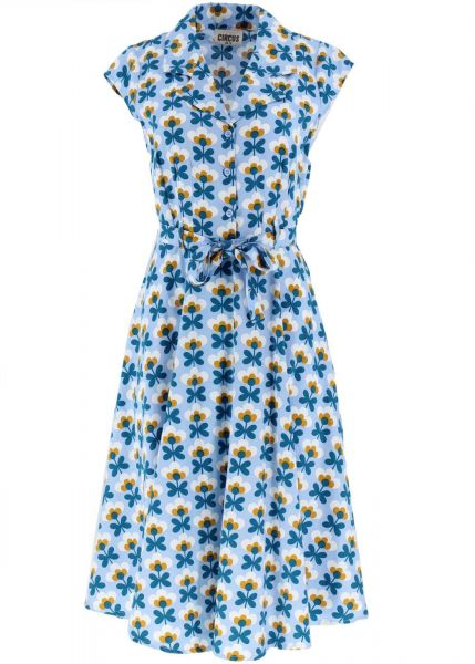 Kleid Helsinki-blue