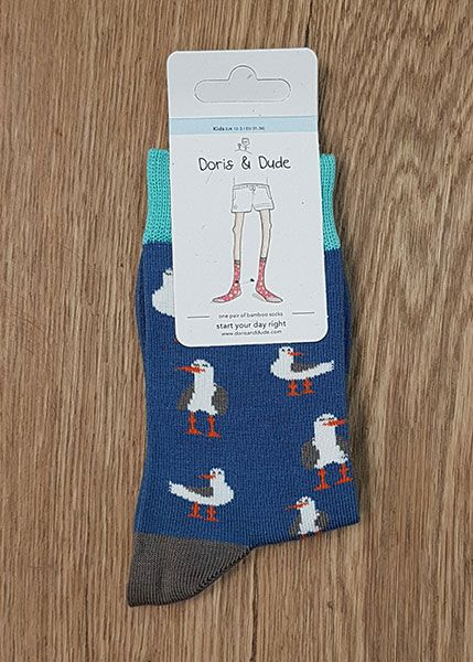 Socks Blue Seagull Kids