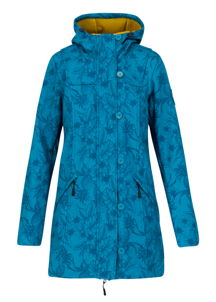 wild weather long anorak - tropical shades