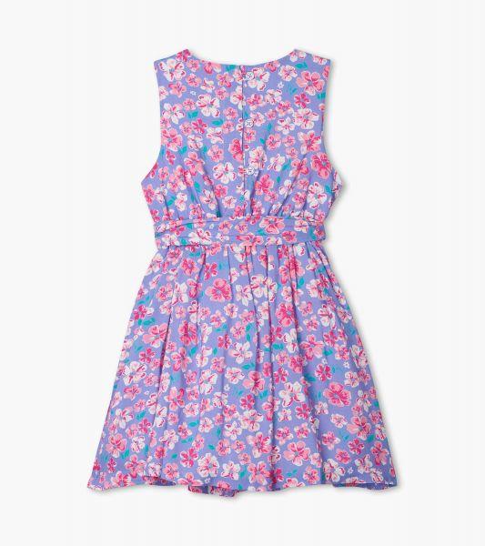 Spring Garden Party Dress - Jacaranda