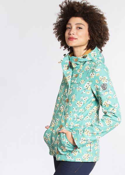 wild weather petite anorak - blossom spring time