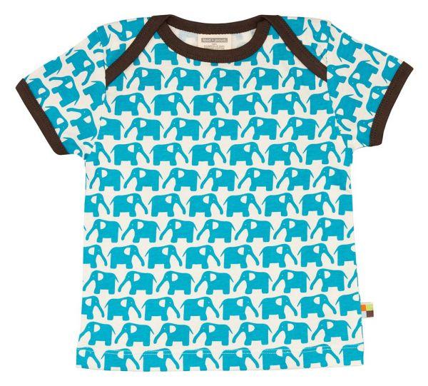 T-Shirt Elefant - aqua