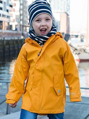 Hafencity Coat Kids - softskin gelb