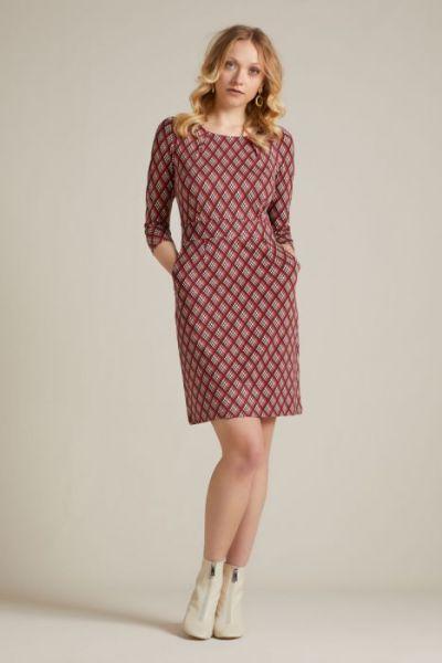 Mona Dress Mallory - Sandelwood Brown