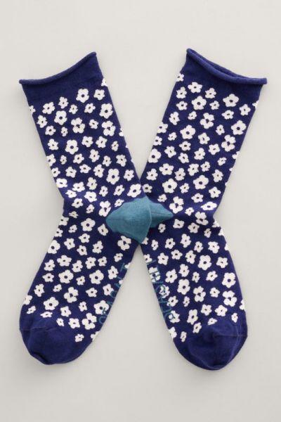 Womens Arty Socks Five Farm Maritime