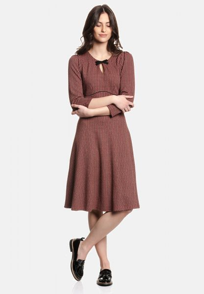 VM Holly Dress red allover