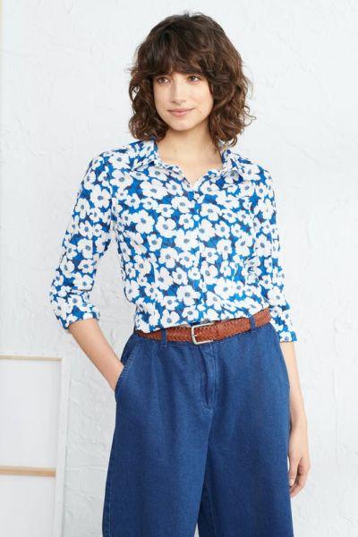 Larissa Shirt - Mallow Flower Cargo