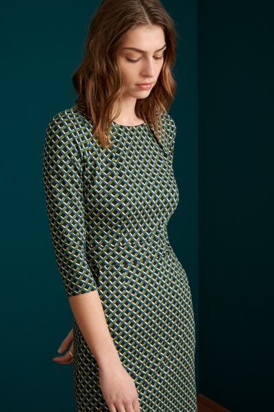 Mona Dress Pavilion - Olive Green