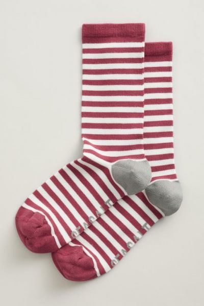 Women's Sailor Socks - Weatherboard Dark Floret