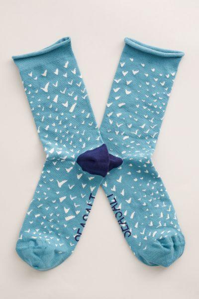 Womens Arty Socks Migration Water