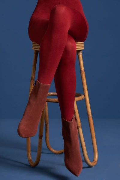 Tights Solid - True Red